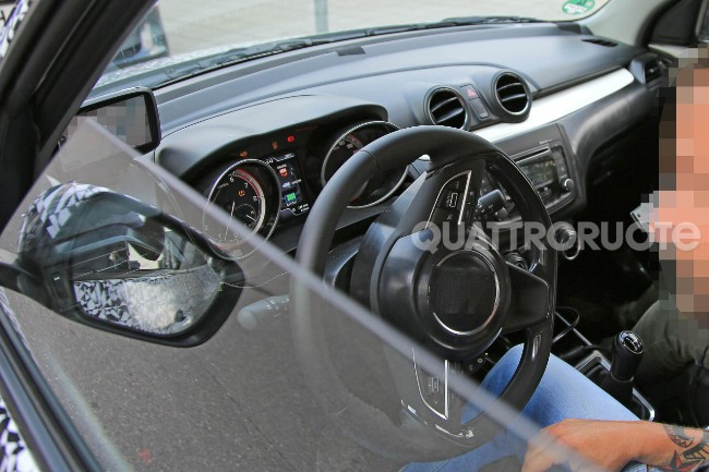 Maruti Swift update interiors