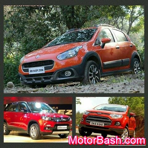 Avventura vs Brezza vs Ecosport