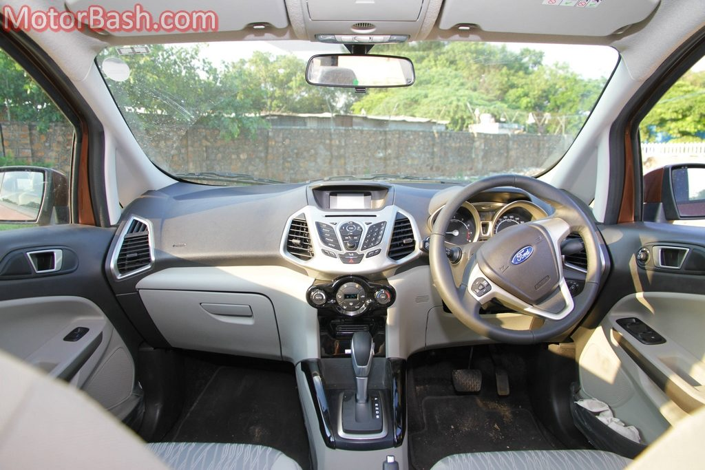 Ford EcoSport Automatic interior