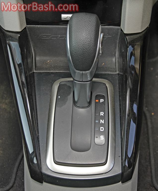 Ford EcoSport automatic gearbox