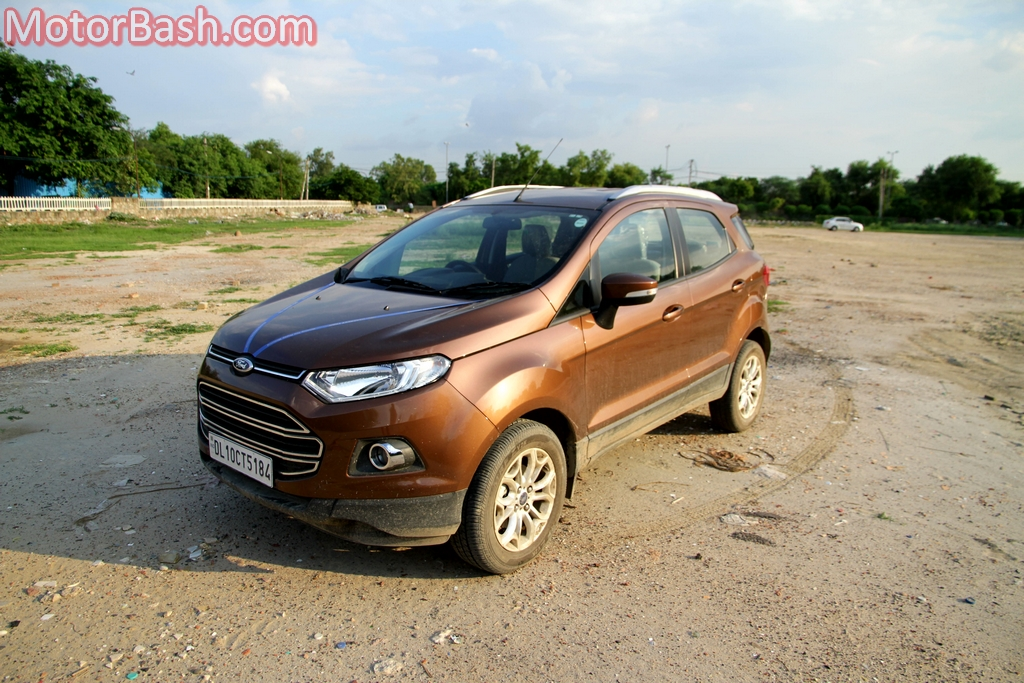 Ford EcoSport front three quarters