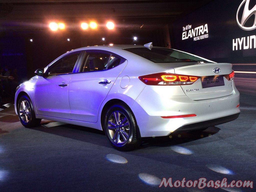 Hyundai Elantra rear