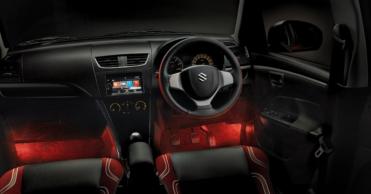 Maruti swift deca launched price pics and features for Swift vxi o interior