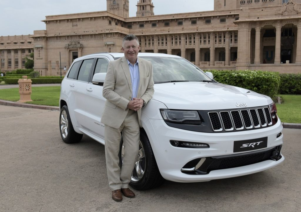 Mr. Kevin Flynn, President and MD, FCA India with GC SRT