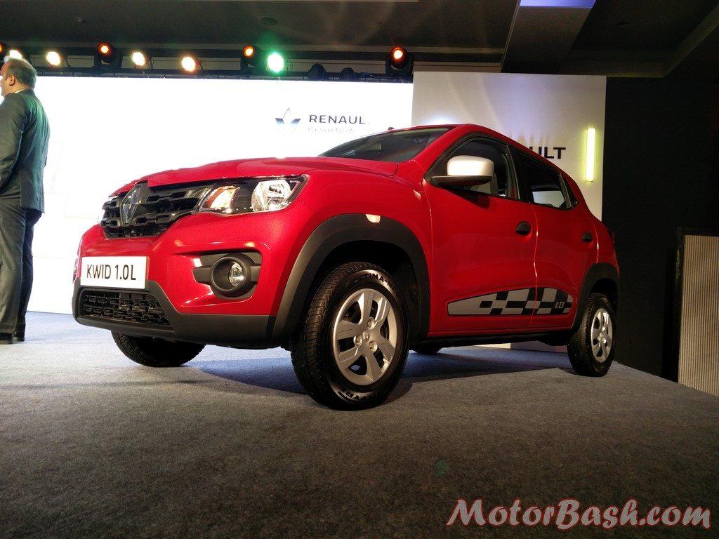 Renault Kwid 1.0 litre front