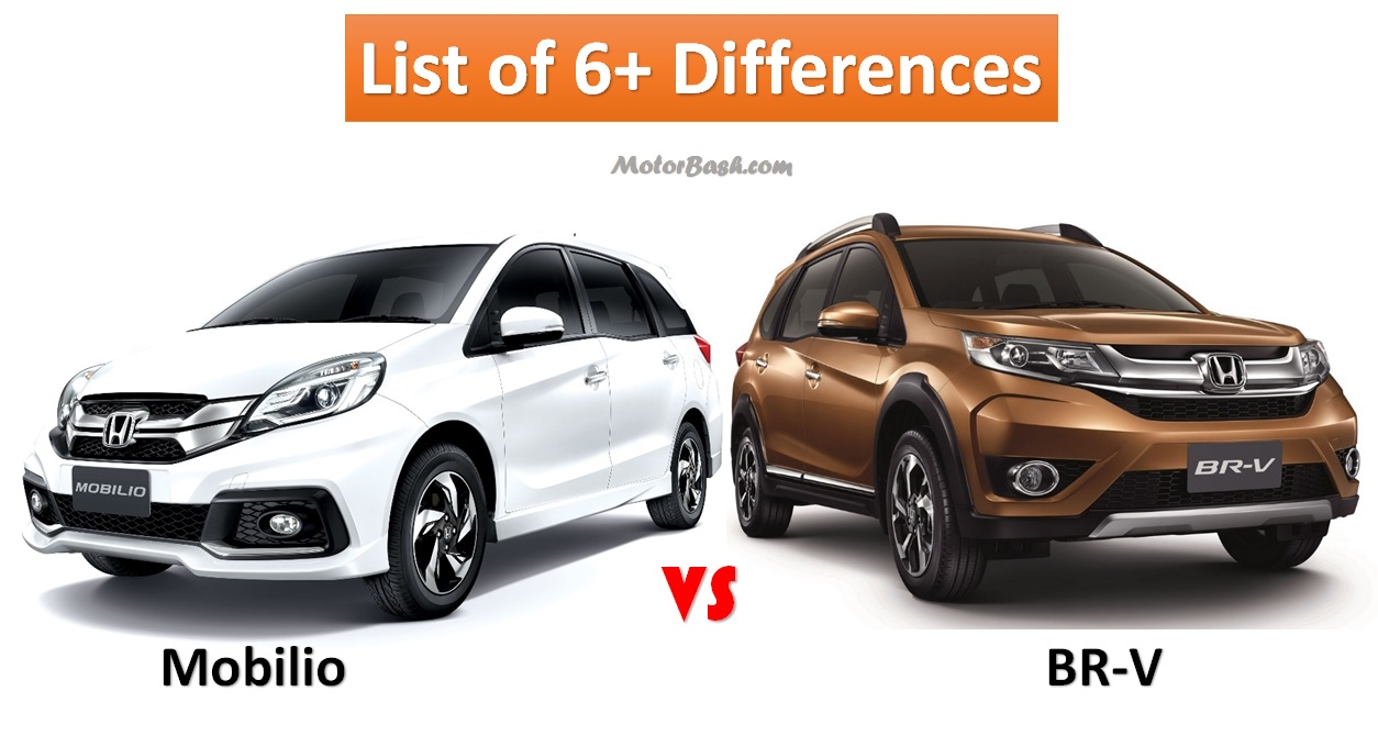 Honda Brv Vs Mobilio List Of 6 Differences Amp Price Comparo