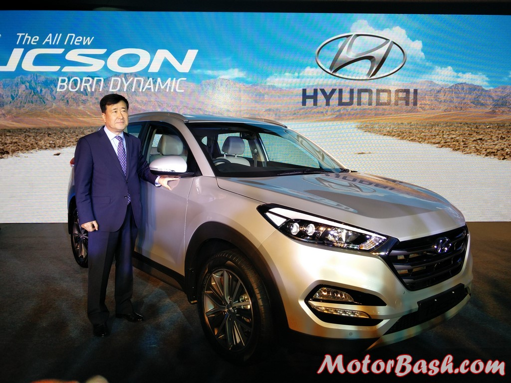 Hyundai Tucson Launched at Rs 18.99 lakhs