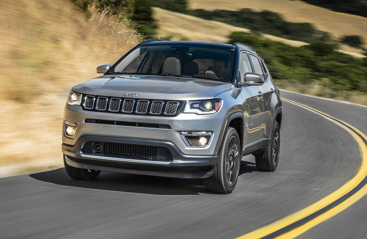 Jeep Compass To Be Built In India Gets Petrol Amp Diesel