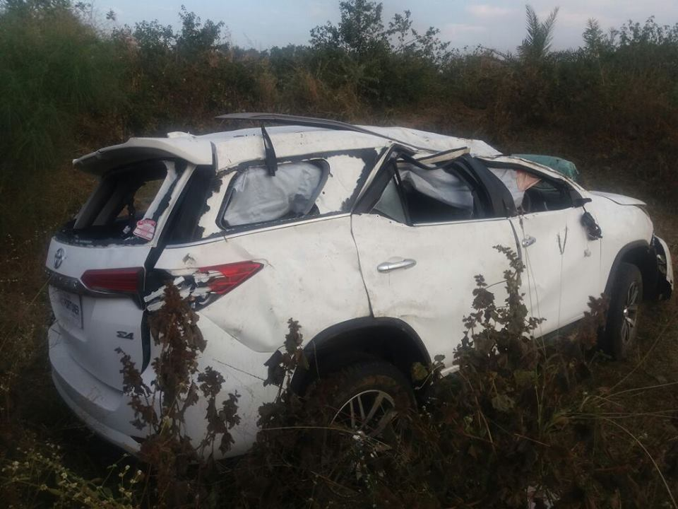 new fortuner crash accident-pic-2