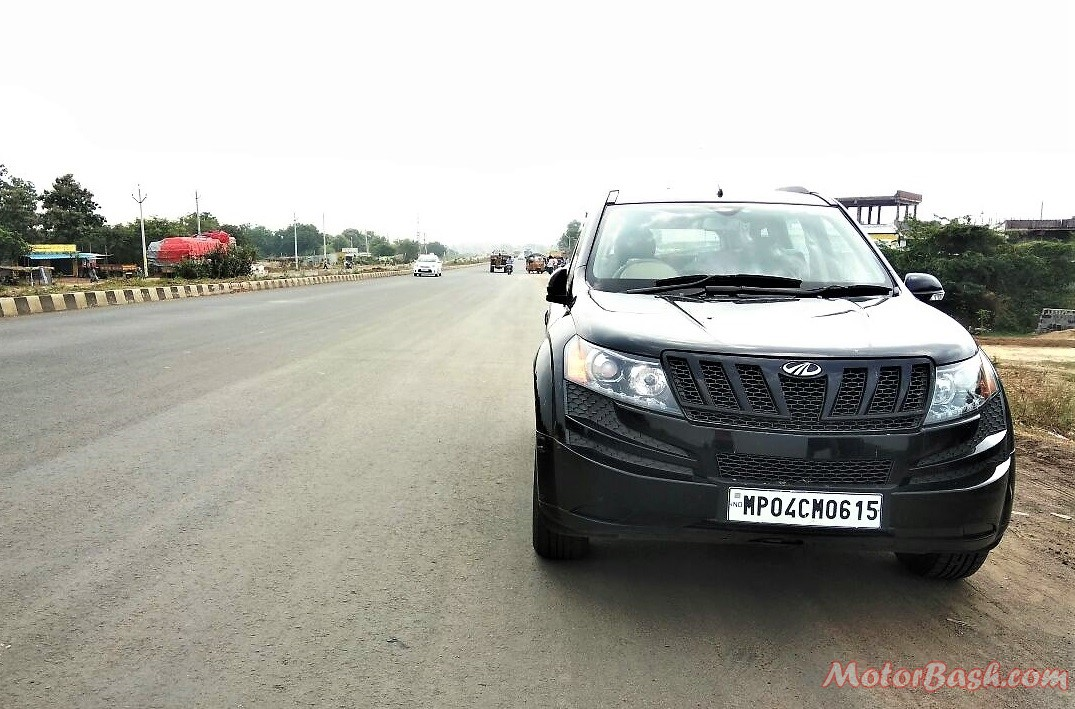 Chennai Bhopal Road conditions - XUV500