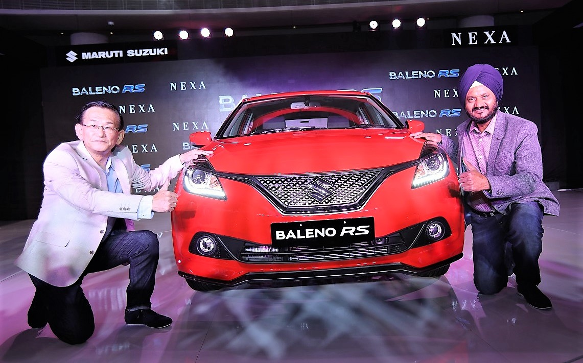Baleno RS Price pics launch