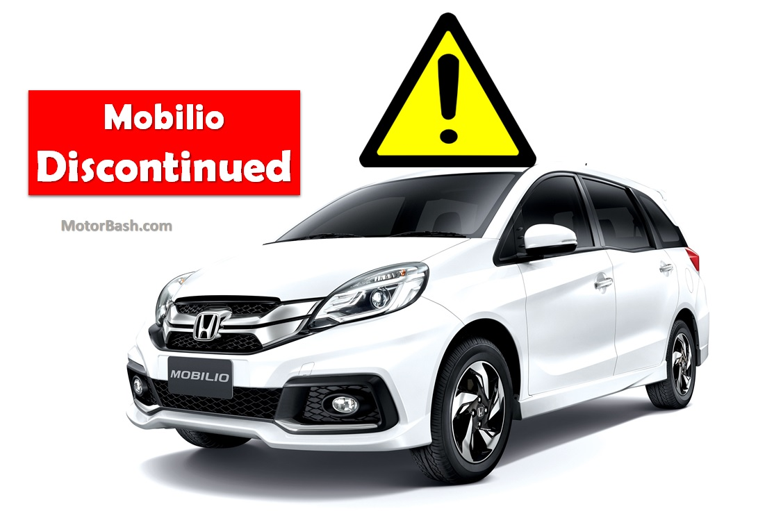 Official Honda Mobilio Discontinued Facelift Being Evaluated