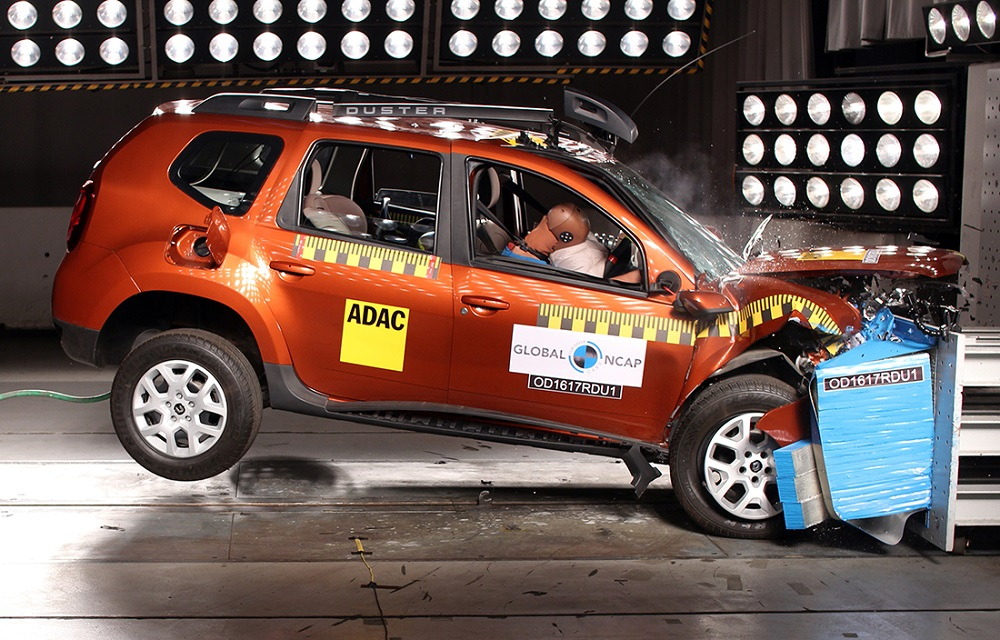 Duster Crash Test Rating