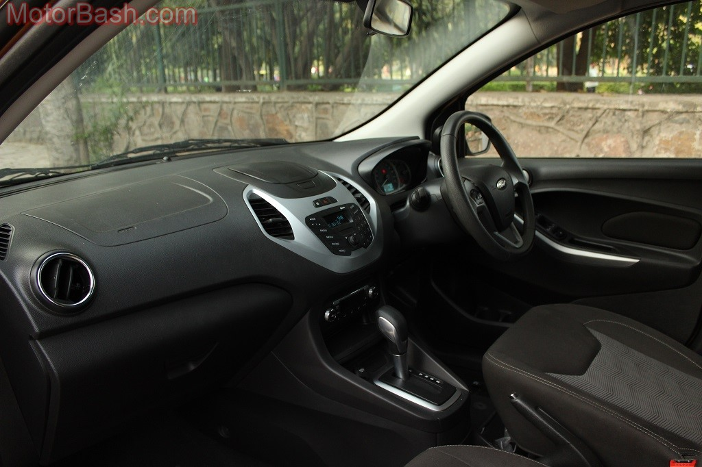 Ford Figo Dashboard and Instrument Console