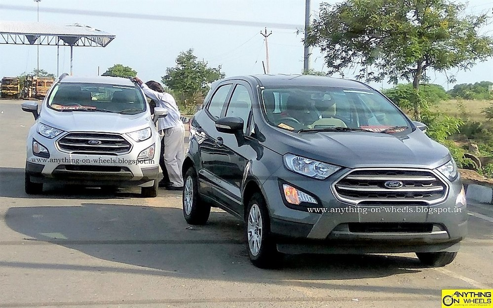 Image Result For Ford Ecosport Facelift Review Team Bhp