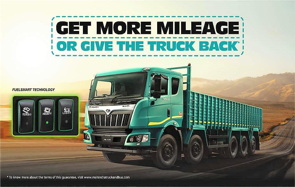Mahindra BLAZO Mileage Guarantee or Return the Truck