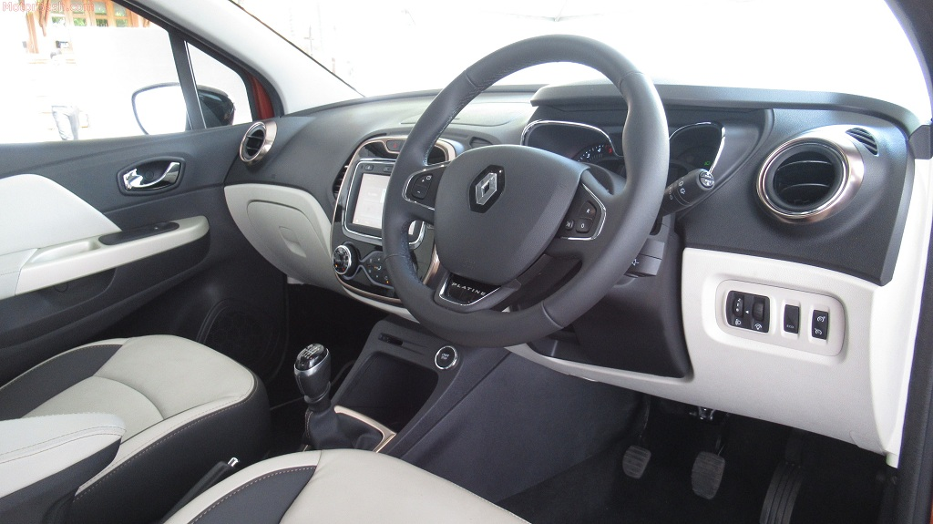 Captur cabin review