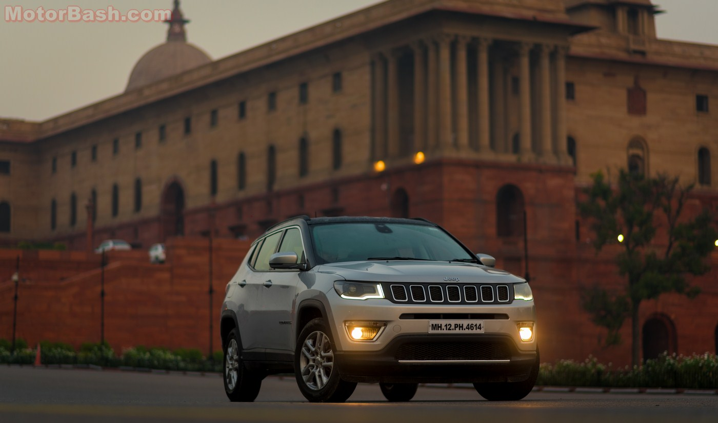 Jeep Compass Review Design