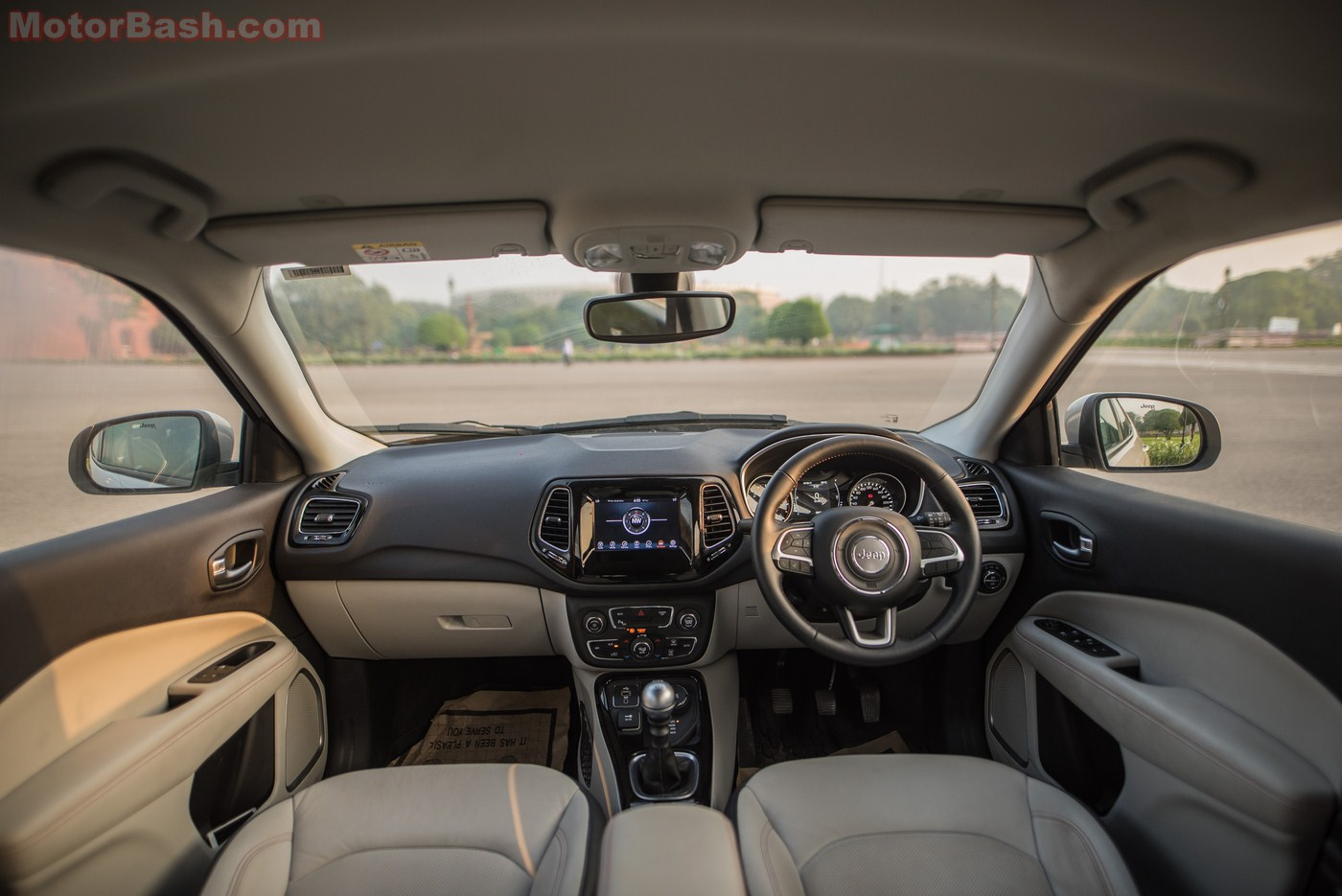 Jeep Compass Review Interior