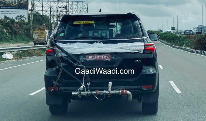 2021 fortuner facelift spy pics